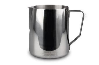 Stainless Steel Milk Frothing Jug Frother Coffee Latte Pitcher 1 Litre