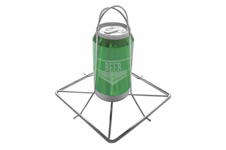Stainless Steel Beer Can Chicken Roaster Rack BBQ Grill Barbecue Stainless Steel