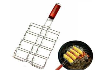 Corn Cob Grill Basket Rack Top Grade BBQ Barbecue Grilling Camping Corn Holder