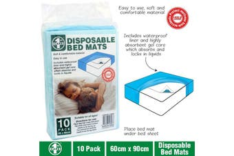 10pk Disposable Incontinence Bed Underpads Sheets Pee Pads Mattress Protector
