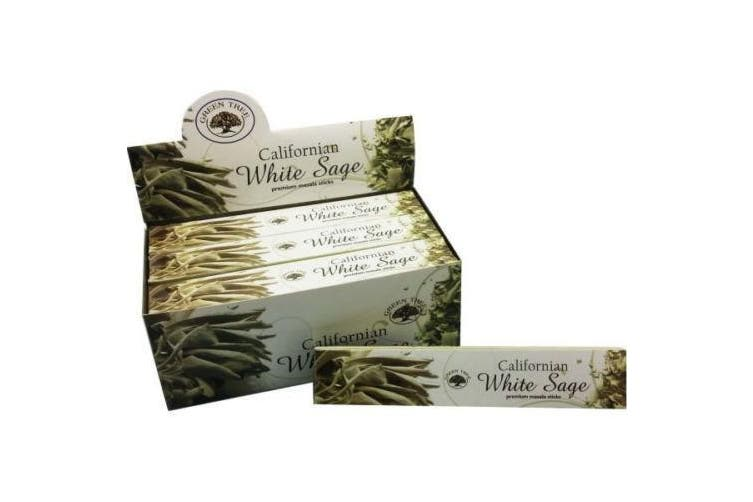 Green Tree California White Sage Incense 144 Sticks