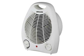 Heller Portable Fan Heater Adjustable Thermostat Floor Table Desk Caravan 2000W