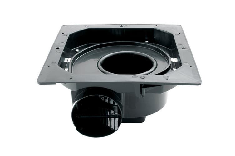 250mm white ducted exhaust fan bathroom ventilation shutter ceiling heller