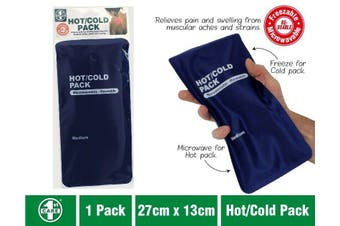 Hot Cold Gel Pack Reusable Microwaveable Freezer Ice Pain Relief First Aid