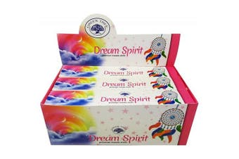 Green Tree Bulk Incense Stick Dream Spirit 12 Packets 144 Sticks Premium Masala Fragrance