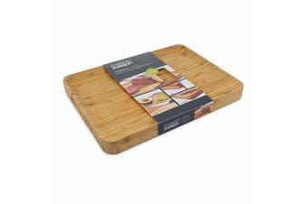 Joseph Joseph Cut & Carve Chopping Board Bamboo Non-slip Feet