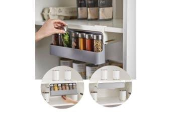 JOSEPH JOSEPH Cupboard Store Under-shelf Spice Rack Kitchen Storage