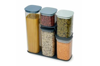 Joseph Joseph 5pcs Editions Podium Food Storage Container Kitchen Set w/ Stand