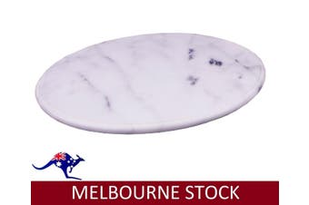 30CM MARBLE LAZY SUSAN LZY DINING KITCHEN DININGWARE CHEESEBOARD GIFT HOME