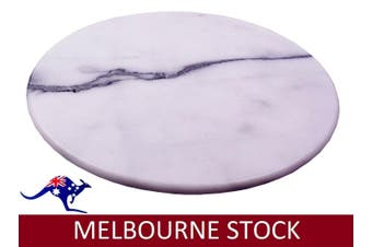 38CM MARBLE LAZY SUSAN LZY DINING KITCHEN DININGWARE CHEESEBOARD GIFT HOME