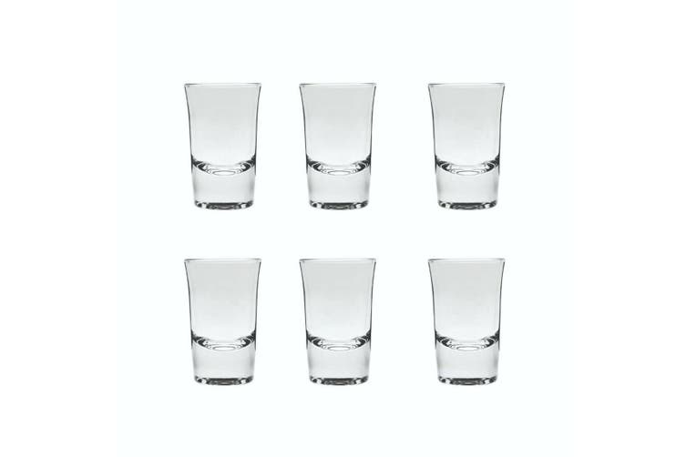 Classico Liqueur Shot 40ml Set of 6 Clear Glass Cups Drinking Bar Parties