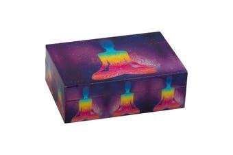 Chakra Lotus Meditation Wooden Laminated BOX Crystal/Esential/Jewellery Box