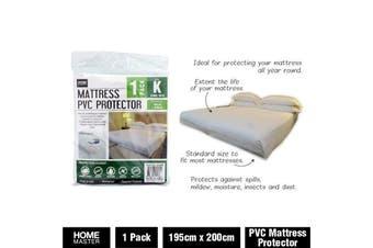 King Heavy Duty Mattress Bag Storage Cover Dust Waterproof Zipper Protector