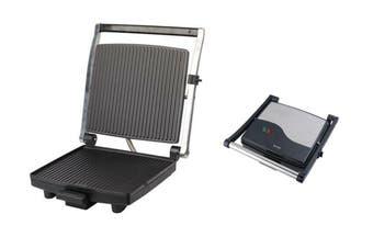 Maxim 4 Slice Sandwich Press Maker Toast Bread Toaster  Non stick Grill 1400W