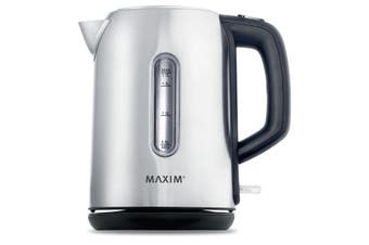MAXIM Stainless Steel Kettle /Cordless/docking Coffee Tea Kitchen 1.7L