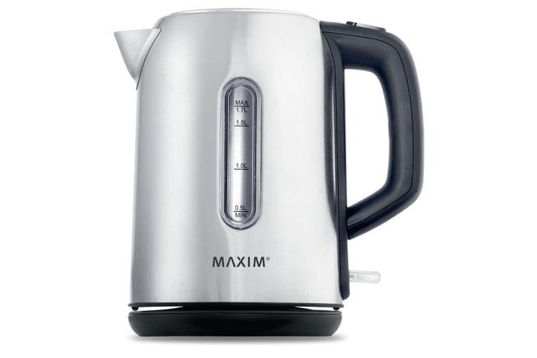 MAXIM Stainless Steel Kettle /Cordless/docking Coffee Tea Kitchen 1.7L