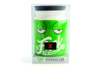 Herb/Weed Storage Jar Large I'm High Stash It!