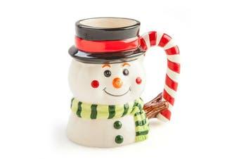 Christmas Xmas Ceramic Mug Snowman Coffee Tea Mug Cup Gift