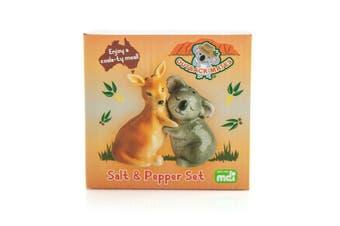 Salt & Pepper Outback Mates Koala and Kangaroo Shaker Set Australian