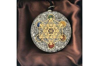 Orgonite Pendant Orgone Metatron Cube Sacred Geometry Reiki Energy