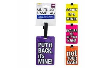 Tag Luggage Multi-Use Name Tag Travel Baggage Suitcase Identity Address Label