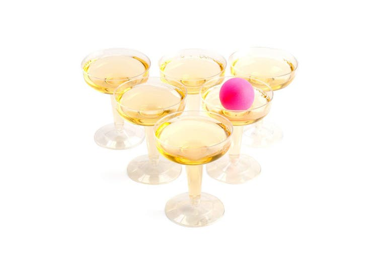 Prosecco Pong Drinking Game