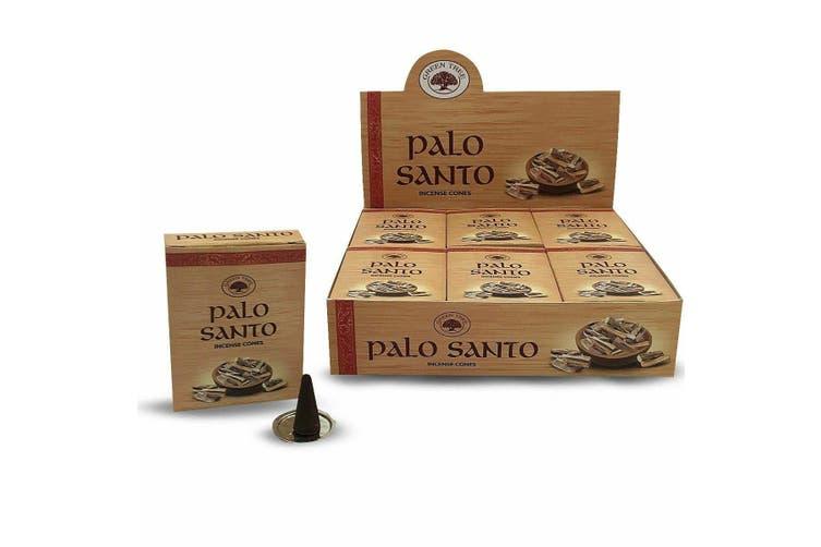 Green Tree Palo Santo With 144 Incense Cones Meditation Aroma Fragrance