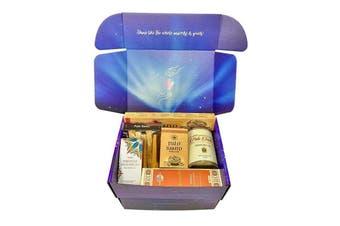 Palo Santo Clearing & Cleansing Hamper Gift Set Box Incense Aromatherapy Salt