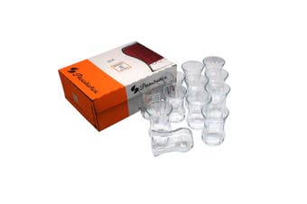 Pasabahce 12 Optikli Tea/Coffee/Latte Cups Glasses High Quality 115ml