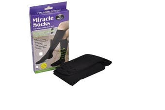 2 Pairs of Compression Socks Medium Size
