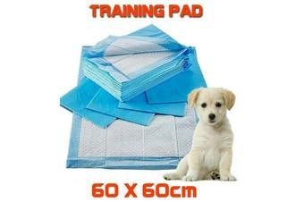200x Pet Dog Puppy Indoor Cat Toilet Training Pads Absorbent 60 x 60cm