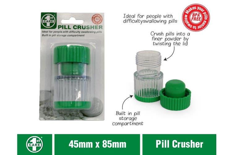 Portable Pill Cutter Tablet Grinder Crusher Storage
