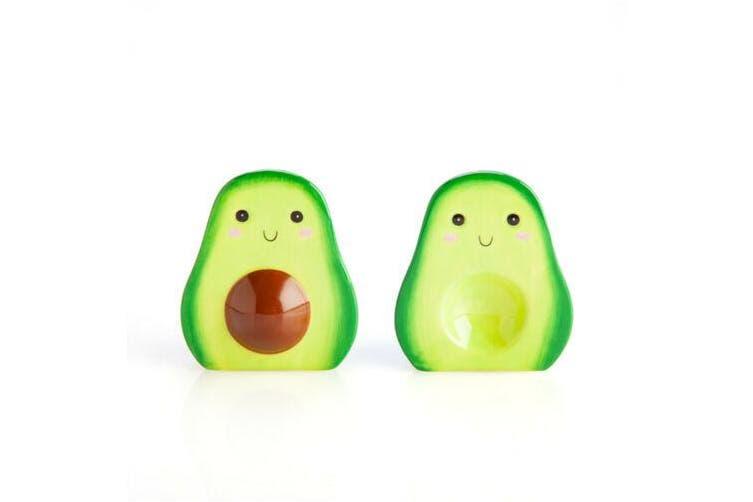 Adorable Avocado AVO Lovers Salt & Pepper Shakers Set