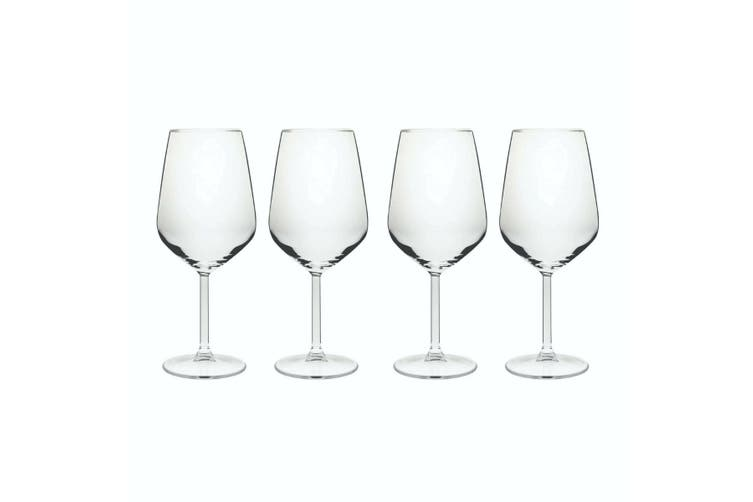 Allegra Red Wine 490ml Set of 4 Wine Glass Drink Drinking Bar Barware Glasses
