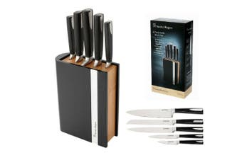 Stanley Rogers 6 Piece Knife Encased Bamboo Set Chef Knives Stainless Steel