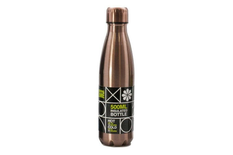 Stainless Steel Vacuum Insulated Bottle Drink -Copper