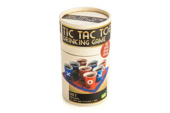 Tic Tac Toe Drinking Game Board Gameboard Party Fun Friends Cup
