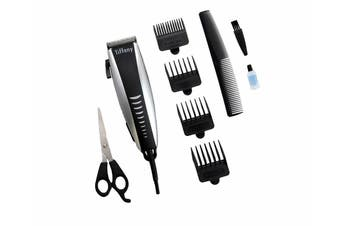 Tiffany Personal Hair Clipper Kit Groomer Kit w/ Comb Stainless Steel Blade
