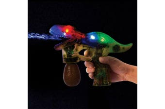 T-Rex Bubble Blaster Toy With Lights & Sounds