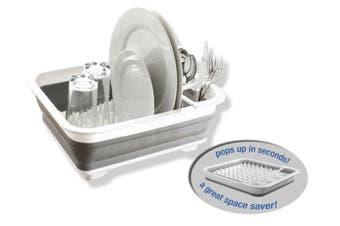 Dish Drainer/Drying Dish Collapsible Rack/strainer Cups Plates Utensils Caravan