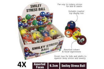 World Globe Stress Ball Squeeze Soft Relief Tension Fun Toy Novelty Gift Map AU