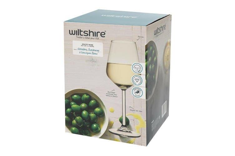 Allegra White Wine 350ml Set of 4 Wine Glass Drink Drinking Bar Barware Glasses