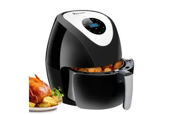 Advwin 8 in 1 Touch Control Air Fryer, 80-200°C 6.5L Electric Hot Air Fryers Oven & Oilless Cooker for Roasting, 1-30 Minutes Cooking