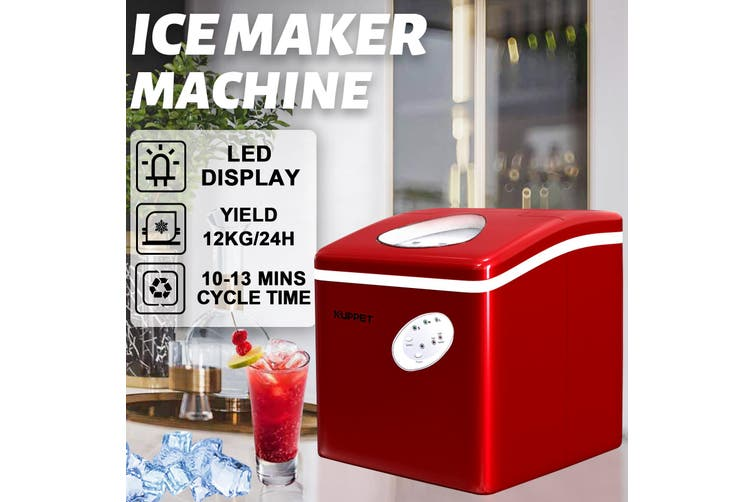 Advwin 3.2L Ice Makers S/M/L sizes, Red