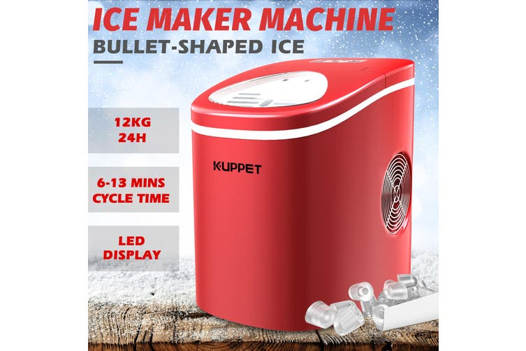 Advwin 2.2L Ice Makers S/L sizes, Red