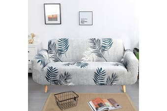 Advwin Stretch Sofa Cover Soft and Comfortable Upgrade Pattern Couch Covers Dog, Cat Pet Slipcovers Furniture Protectors and additional cushion cover (3 Seater, Spring breeze) 190-230cm