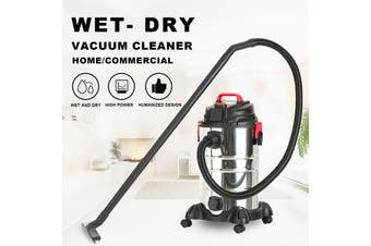 Advwin 4 in 1 wet and dry vacuum cleaner With high-energy filter system and waterproof body for Pet Hair, Dust, liquid.