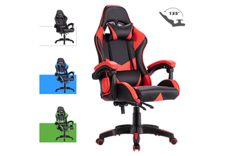 Advwin Gaming Chair Racing Style, Ergonomic Design Reclining Executive Computer Office Chair, Relieve Fatigue