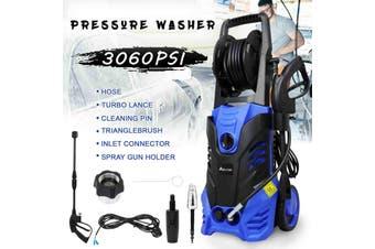 Advwin High Pressure Washer Electric Spray Gun Machine, 3900PSI Adjustable Nozzle,Blue