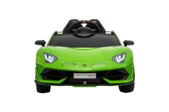 Advwin 12V Kids Ride On Car Lamborghini SVJ License Electric Toy Cars